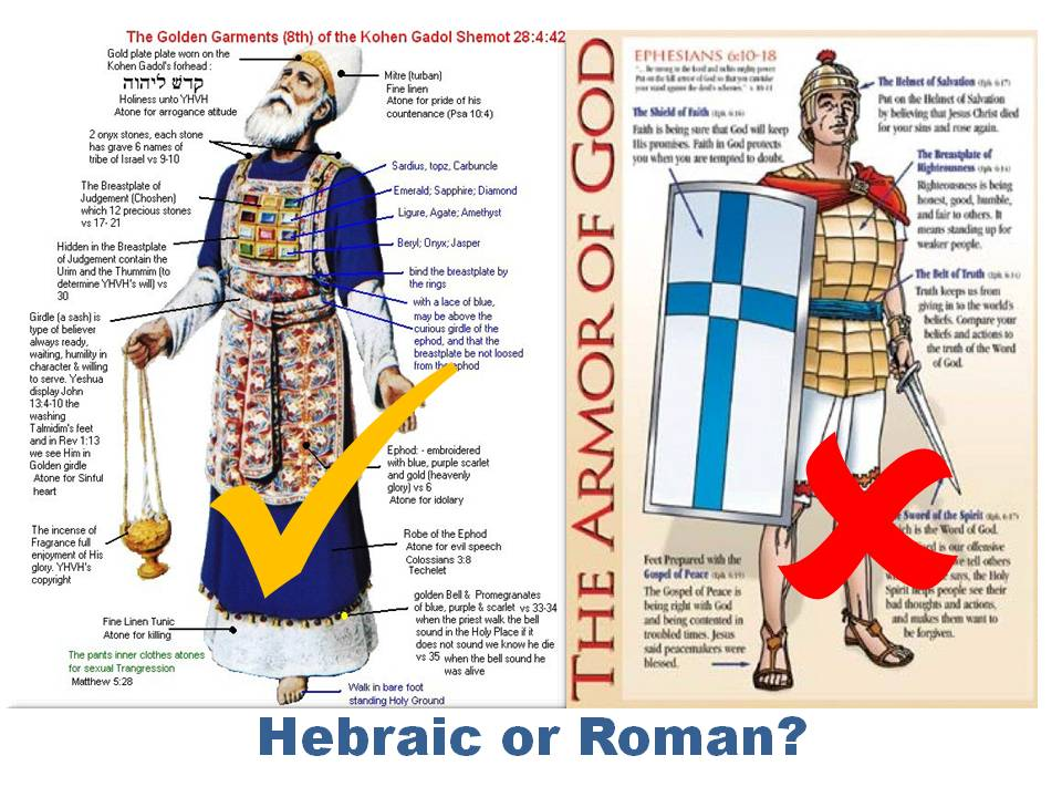 The Whole Armor Of God According To Ot
